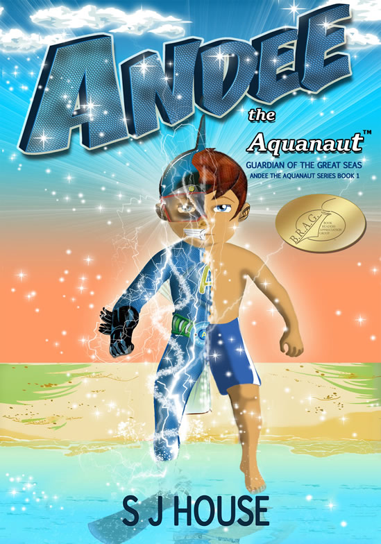 Book 1 cover Andee the Aquanaut_full size