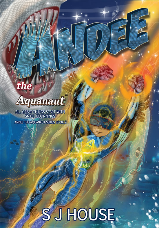 Book 2 cover Andee the Aquanaut